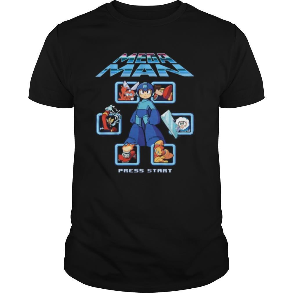 Megan Men Press Start shirt Classic Men's