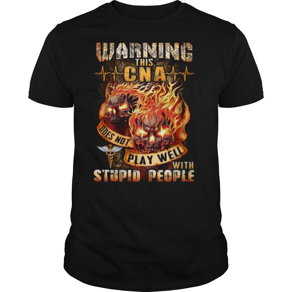 Warning this Bus Driver doesn't play well with stupid people shirt Classic Men's