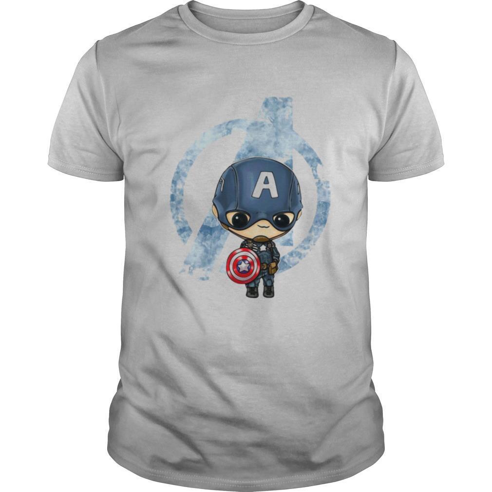 Avengers captain america chibi shirt Classic Men's