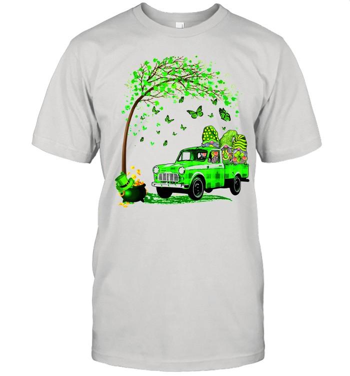 Gnomes Shamrock Patricks Day tshirt Classic Men's T-shirt