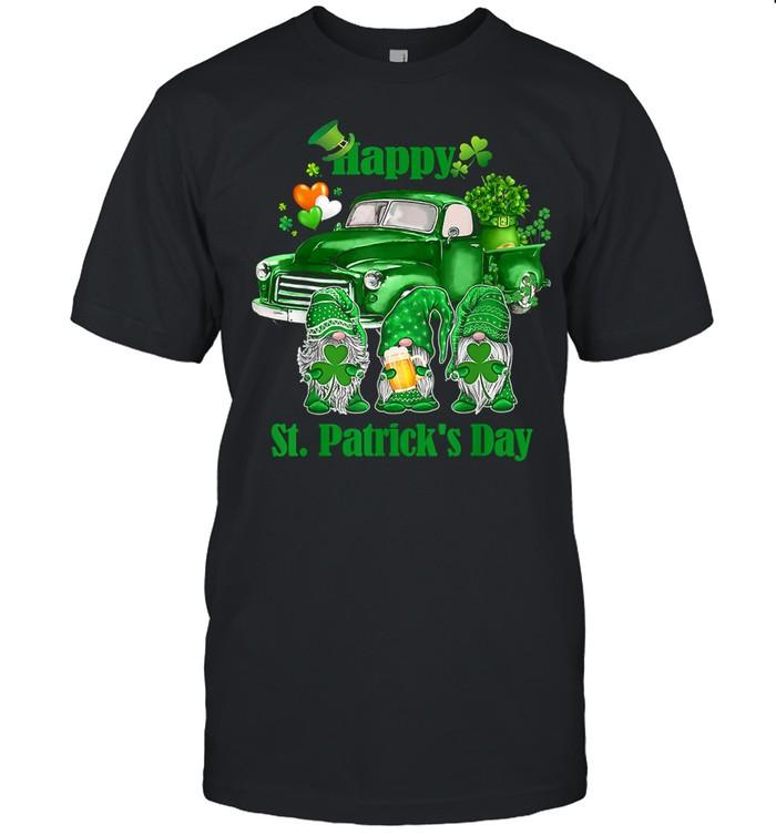 Gnomes St Patricks Day shirt Classic Men's T-shirt