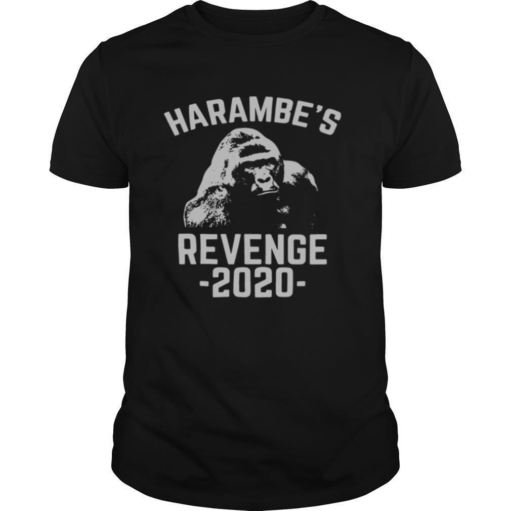 Harambes Revenge 2020 shirt Classic Men's