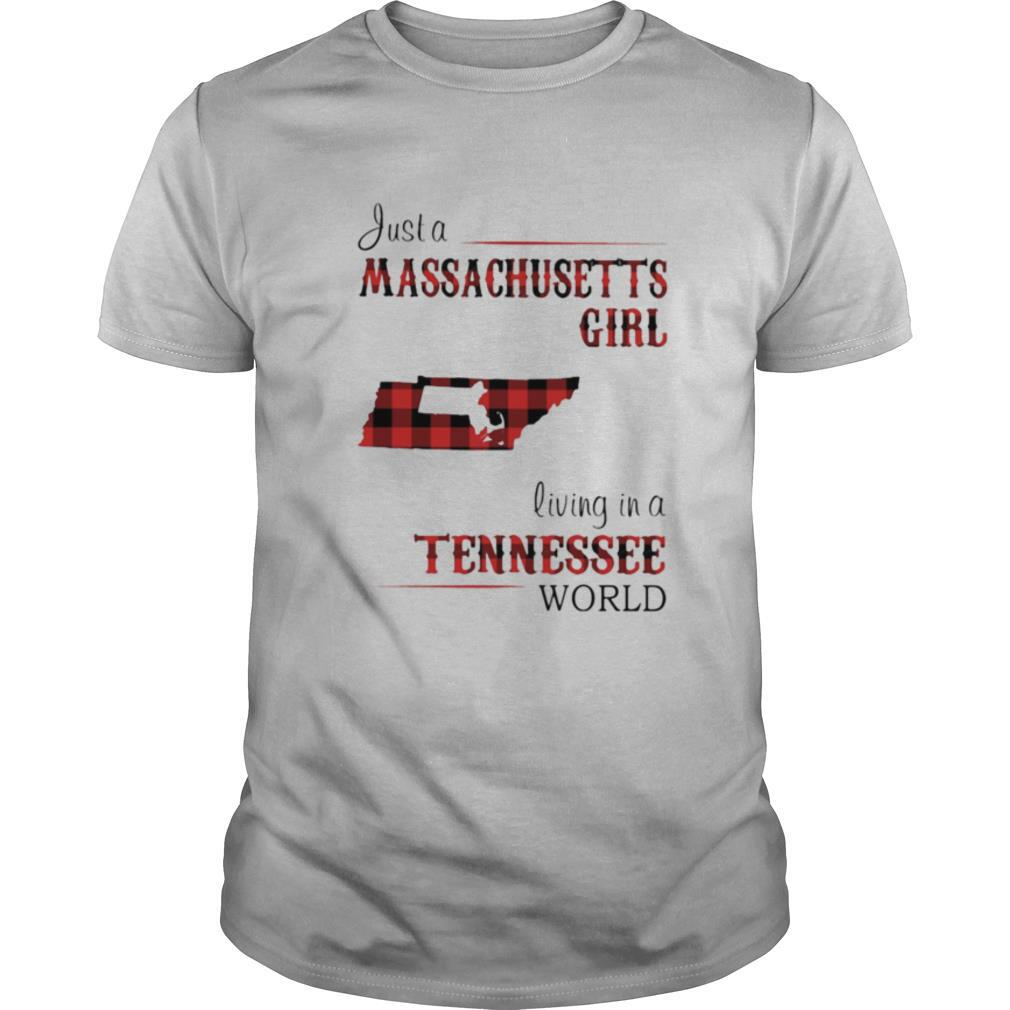 Just a massachusetts living in a tennessee shirt Classic Men's
