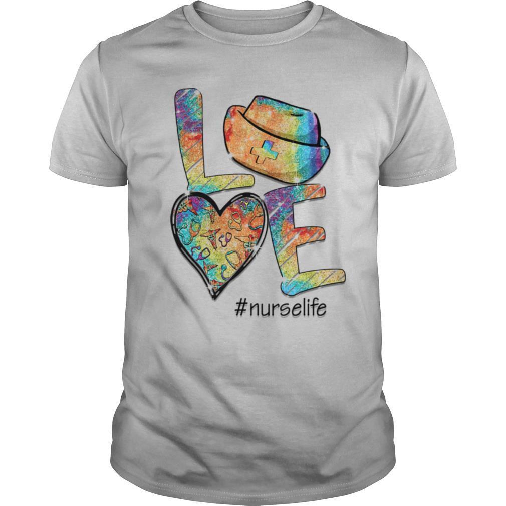 Love nurse life stethoscope heart shirt Classic Men's