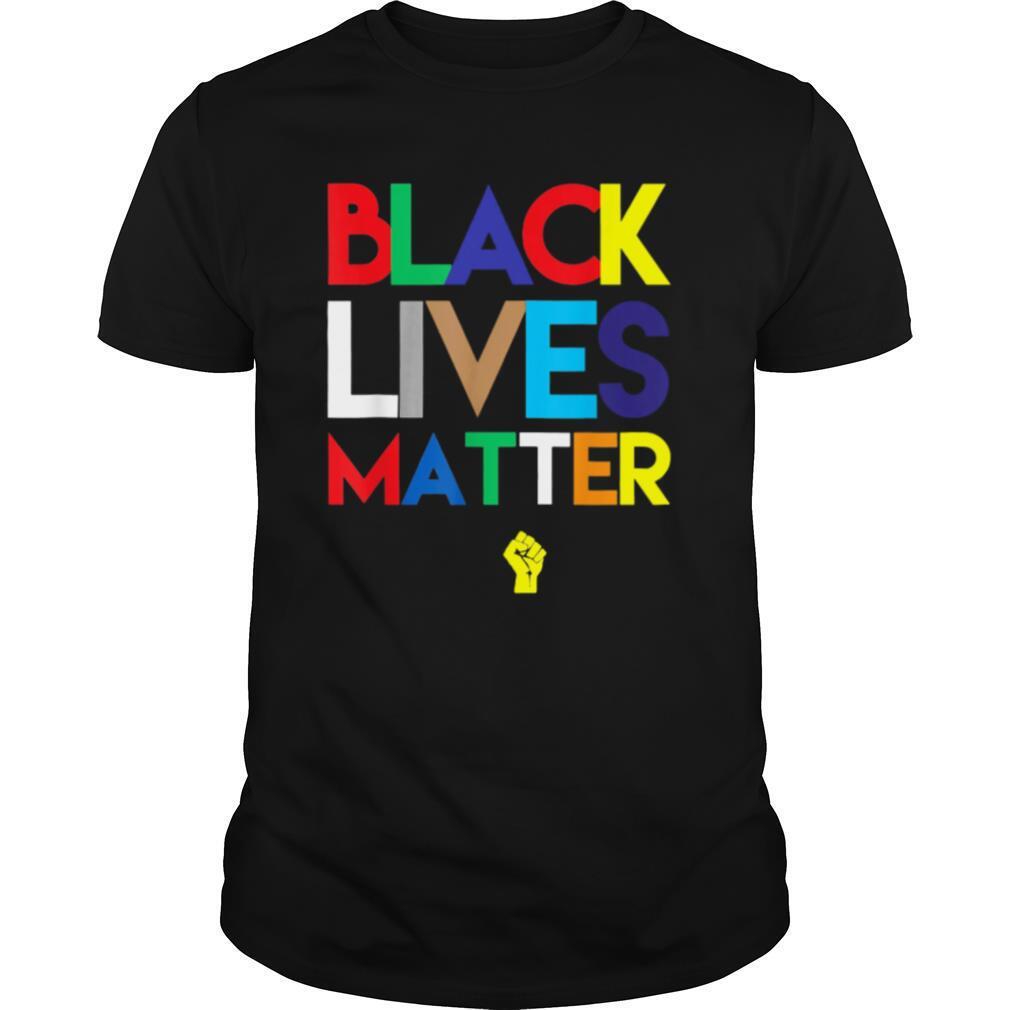 Black lives matter juneteeth colors shirt Classic Men's