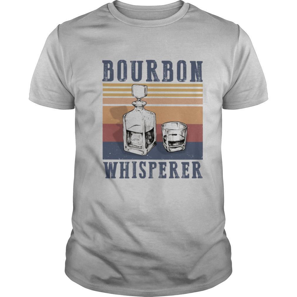 Bourbon whisperer vintage retro shirt Classic Men's