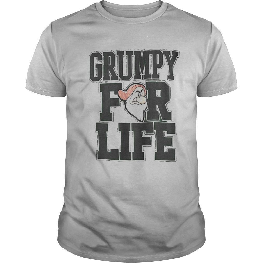 Disney adult dwarfs grumpy for life shirt Classic Men's