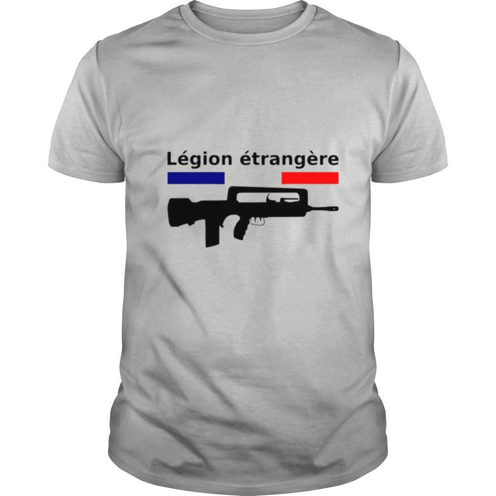 French flag legion etrangere gun shirt Classic Men's
