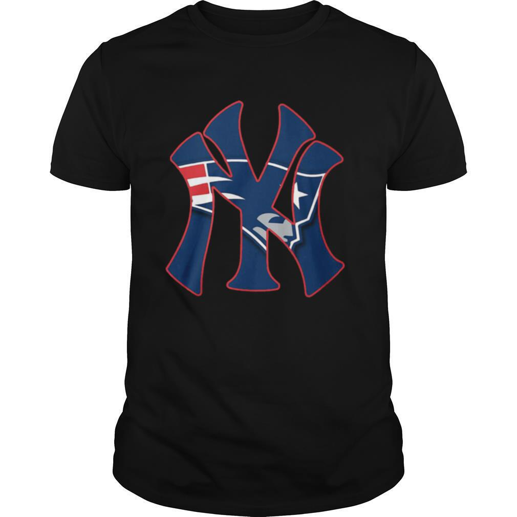 New York Yankees And New England Patriots shirt Classic Men's