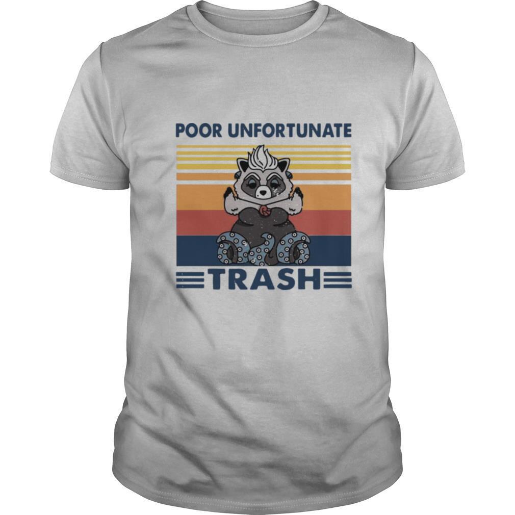 Poor Unfortunate Trash Vintage shirt Classic Men's