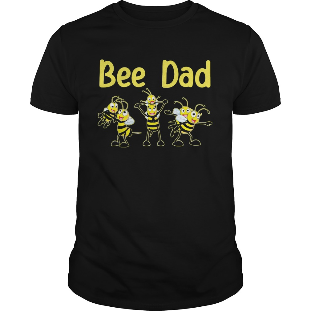 Bee dad happy fathers day shirt Classic Men's