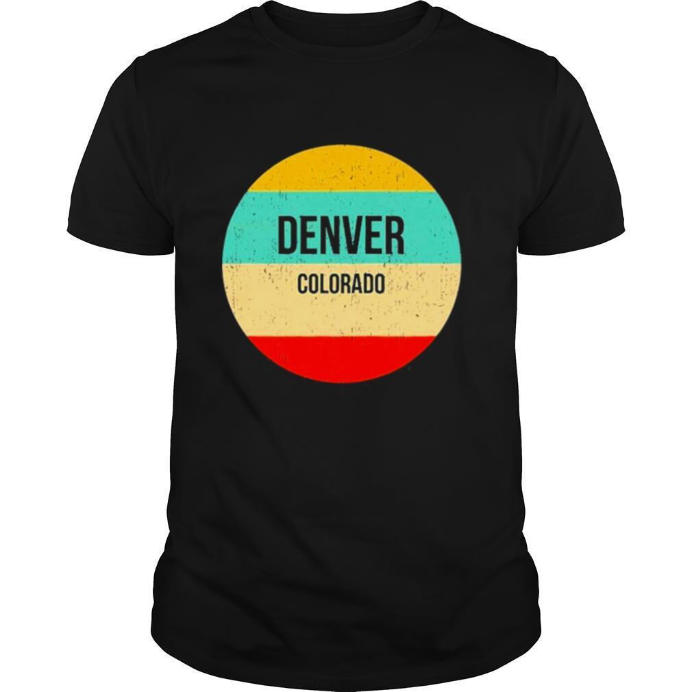 Denver Colorado shirt Classic Men's