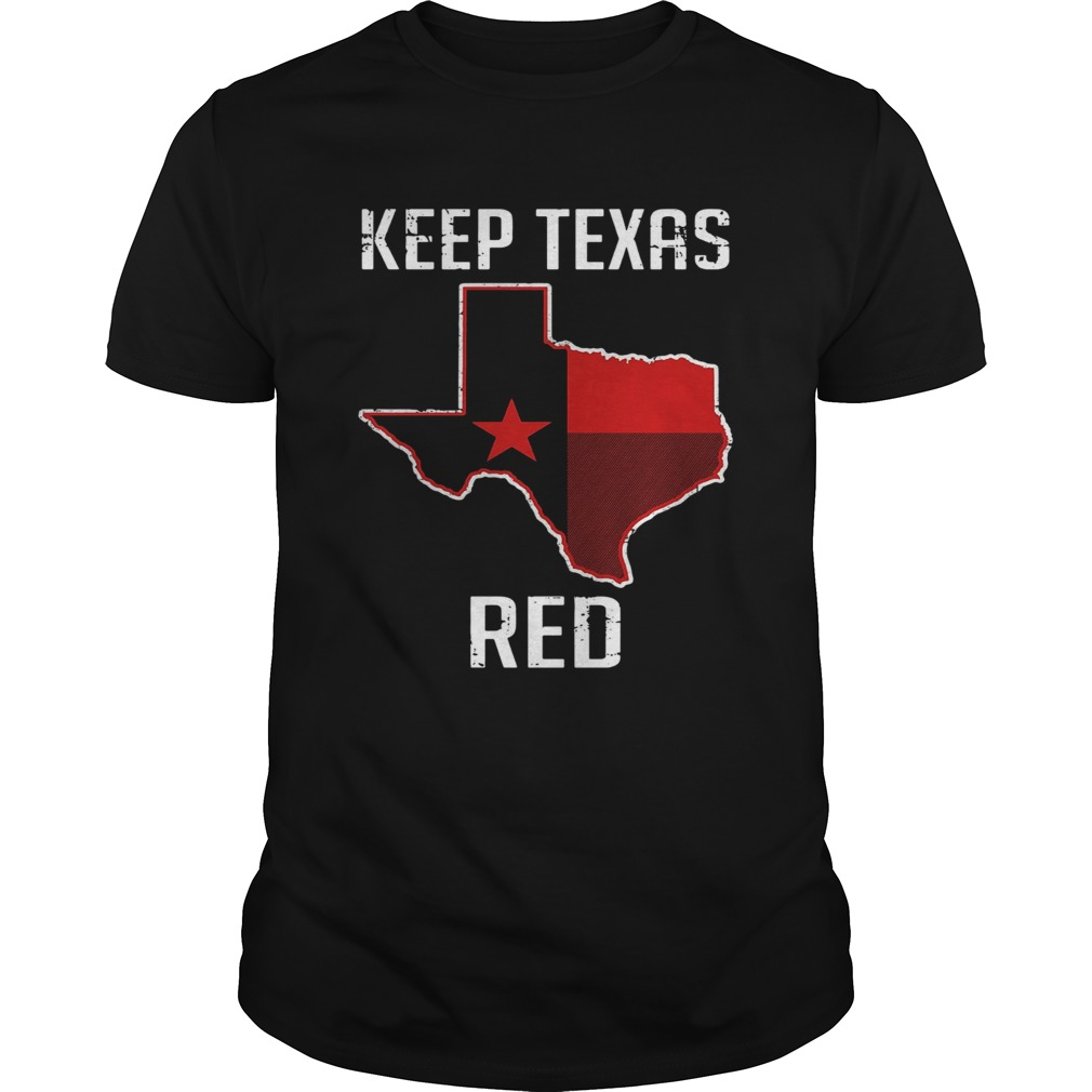 Keep Texas Red State Flag shirt Classic Men's