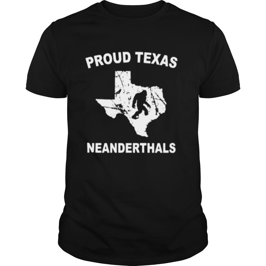 Proud Texas Neanderthal shirt Classic Men's