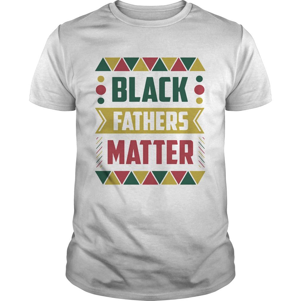 Black fathers matter shirt Classic Men's