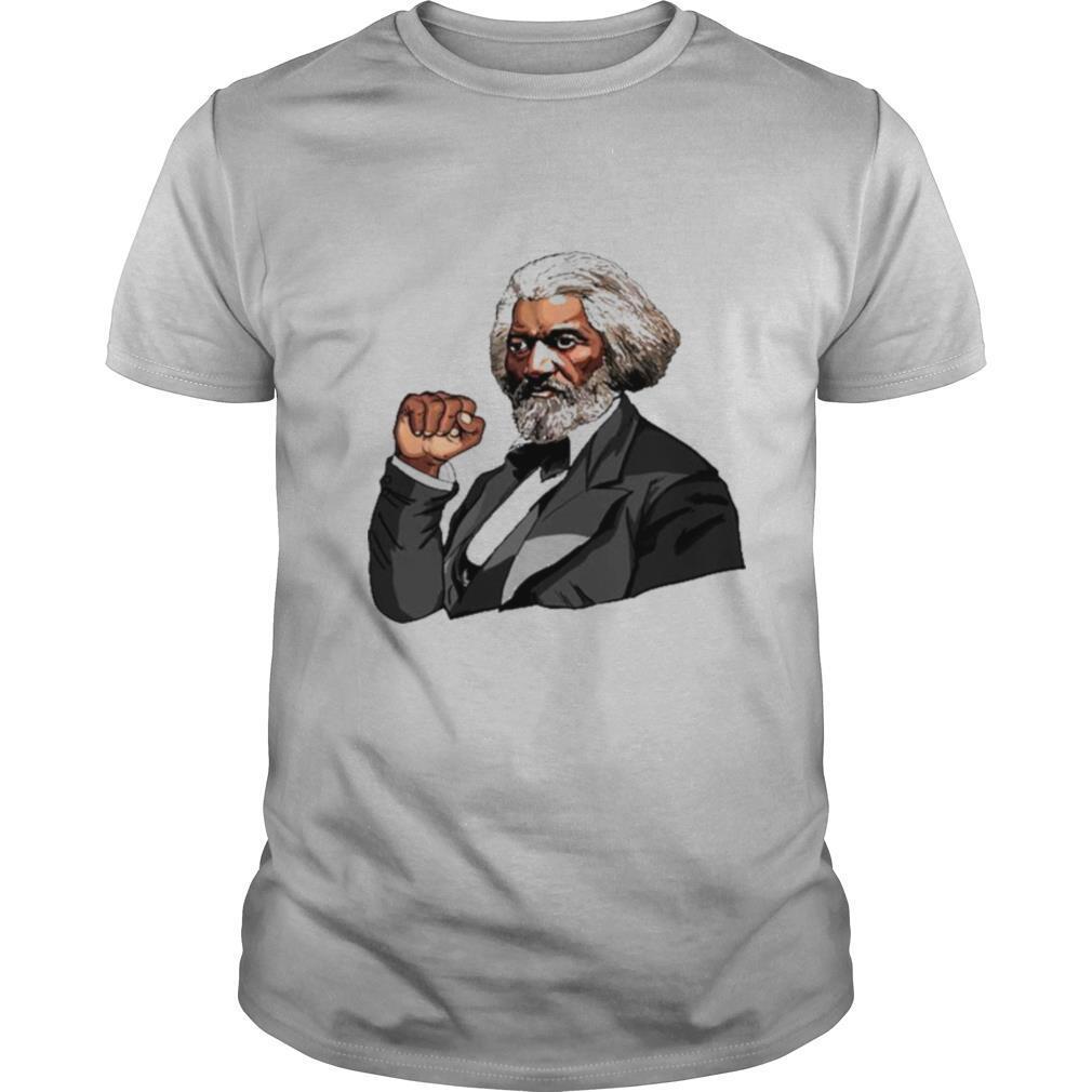 Frederick Douglass Black Fist Blm shirt Classic Men's