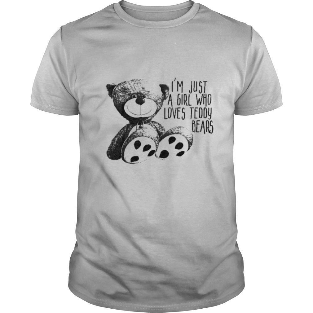 Just A Girl Who Loves Teddy Bears shirt Classic Men's