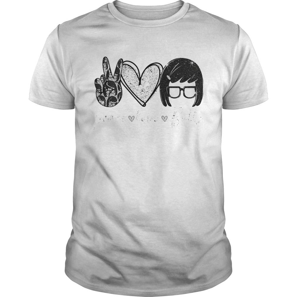 Tina Belcher Peace Love Butts shirt Classic Men's