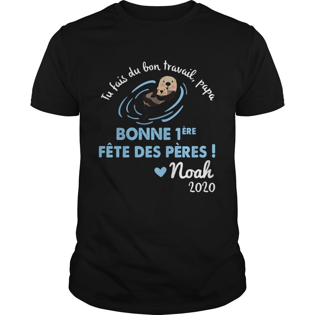 Tu fais du bien travail papa bonne noah 2020 shirt Classic Men's