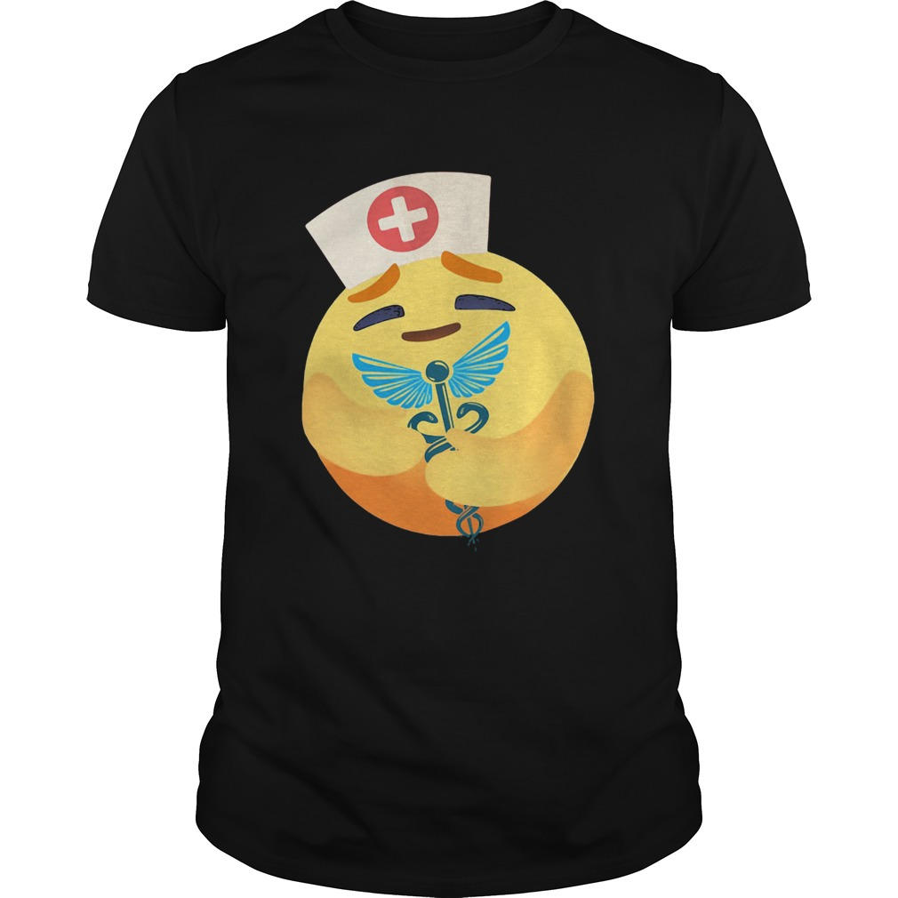 Nurse icon hug caduceus symbol shirt Classic Men's