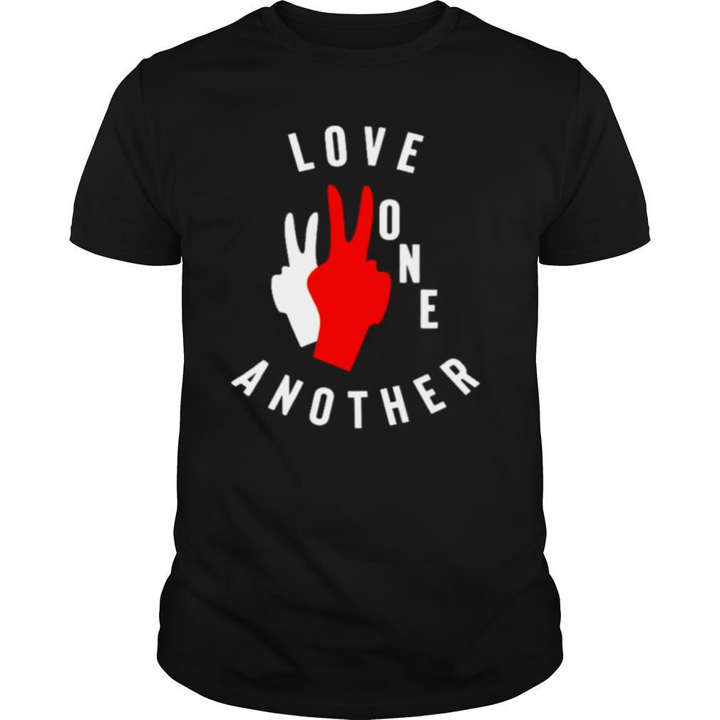 Old navy love one another shirt Classic Men's