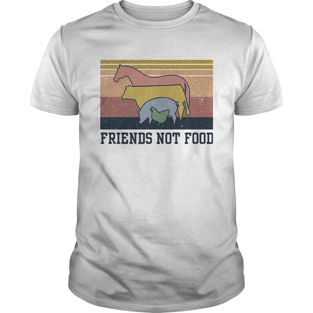 Animal Friends not food vintage shirt Classic Men's