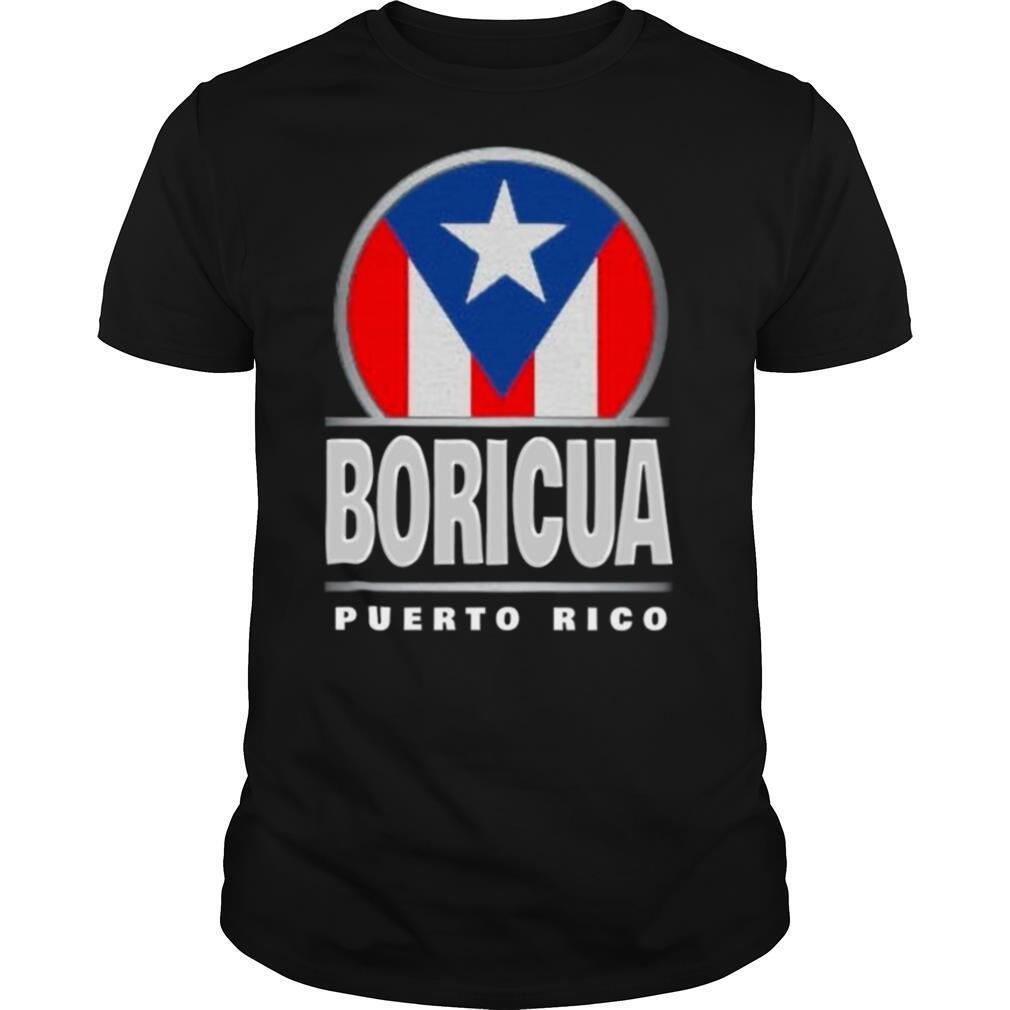 Boricua Puerto Rico Flag shirt Classic Men's