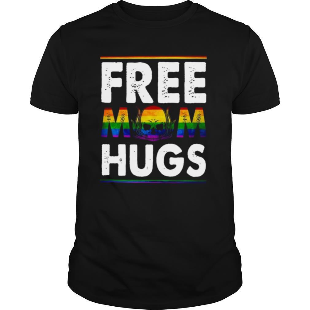 Free Mom Hugs Mothers Day Skull shirt Classic Men's