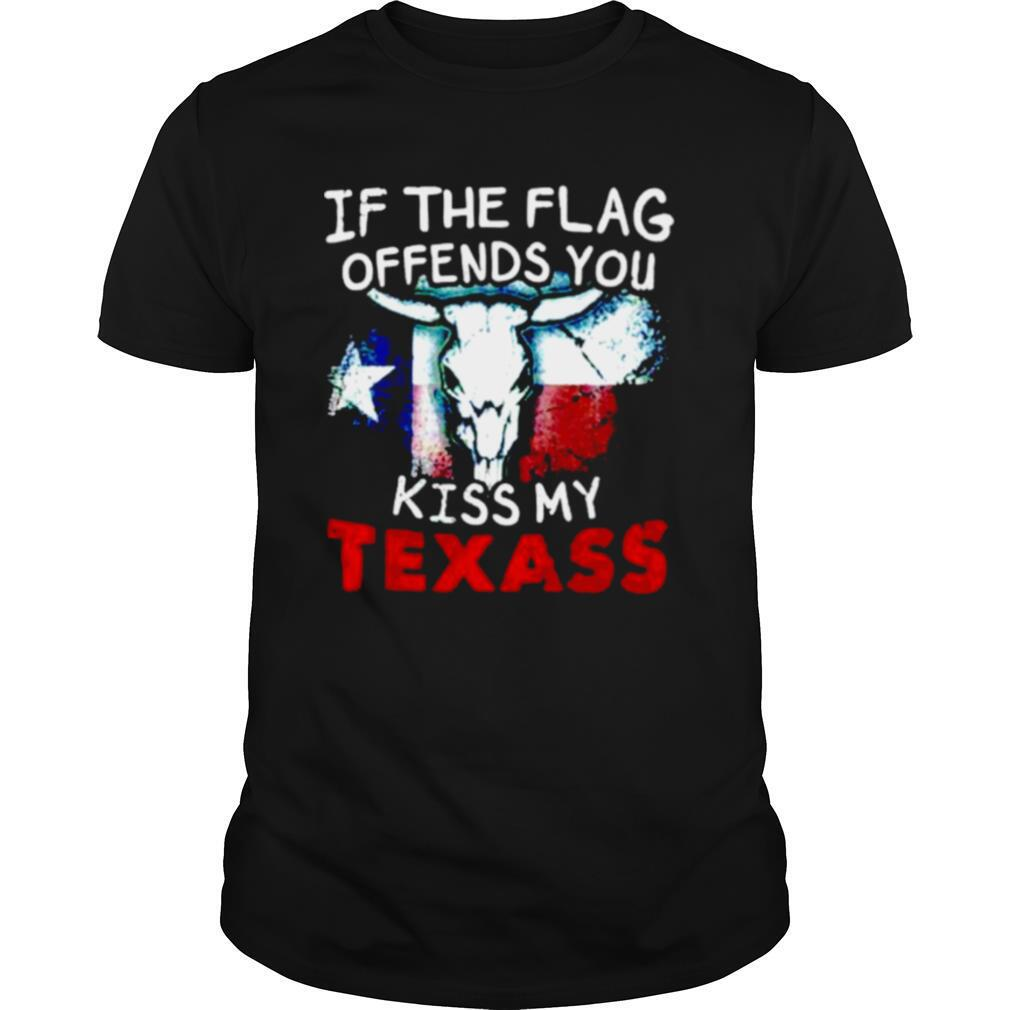 If the flag offends you kiss my Texass shirt Classic Men's