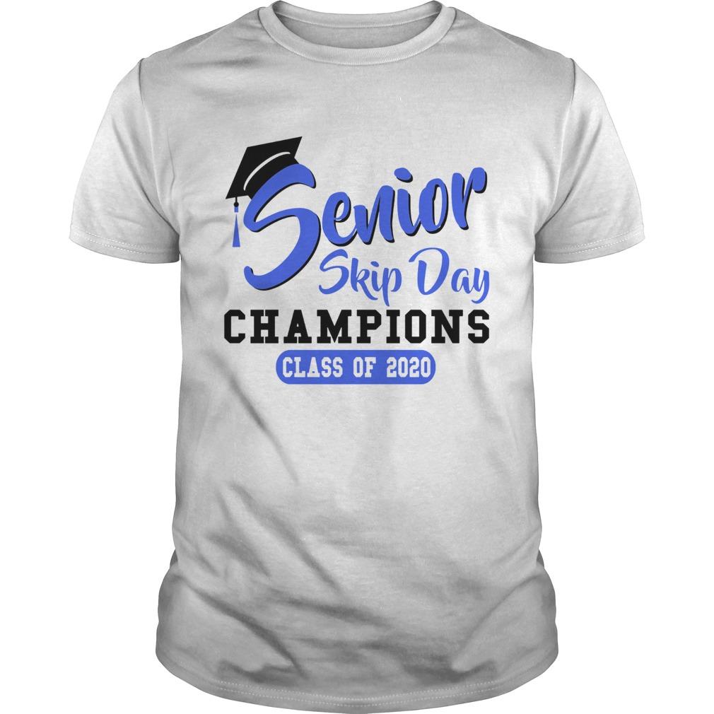 Senior Skip Day Champions Class Of 2020 Blue shirt Classic Men's