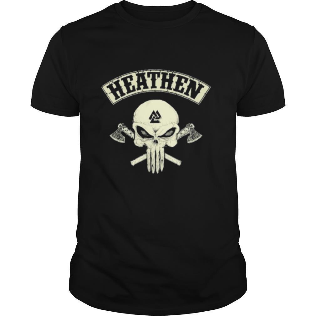 Skull heathen shirt Classic Men's