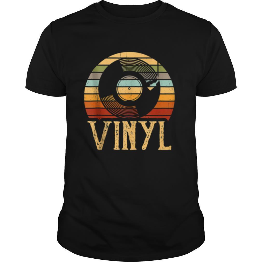 Vintage Vinyl Record Turntable shirt Classic Men's
