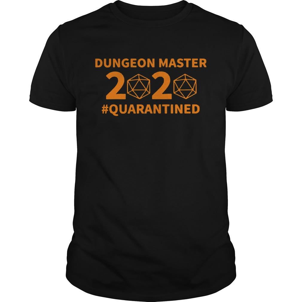 Dungeon Master 2020 Quarantined shirt Classic Men's