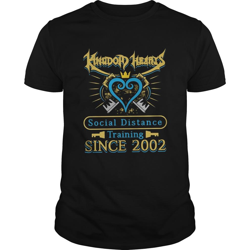 Kingdom Hearts Social Distance Training Since 2002 shirt Classic Men's