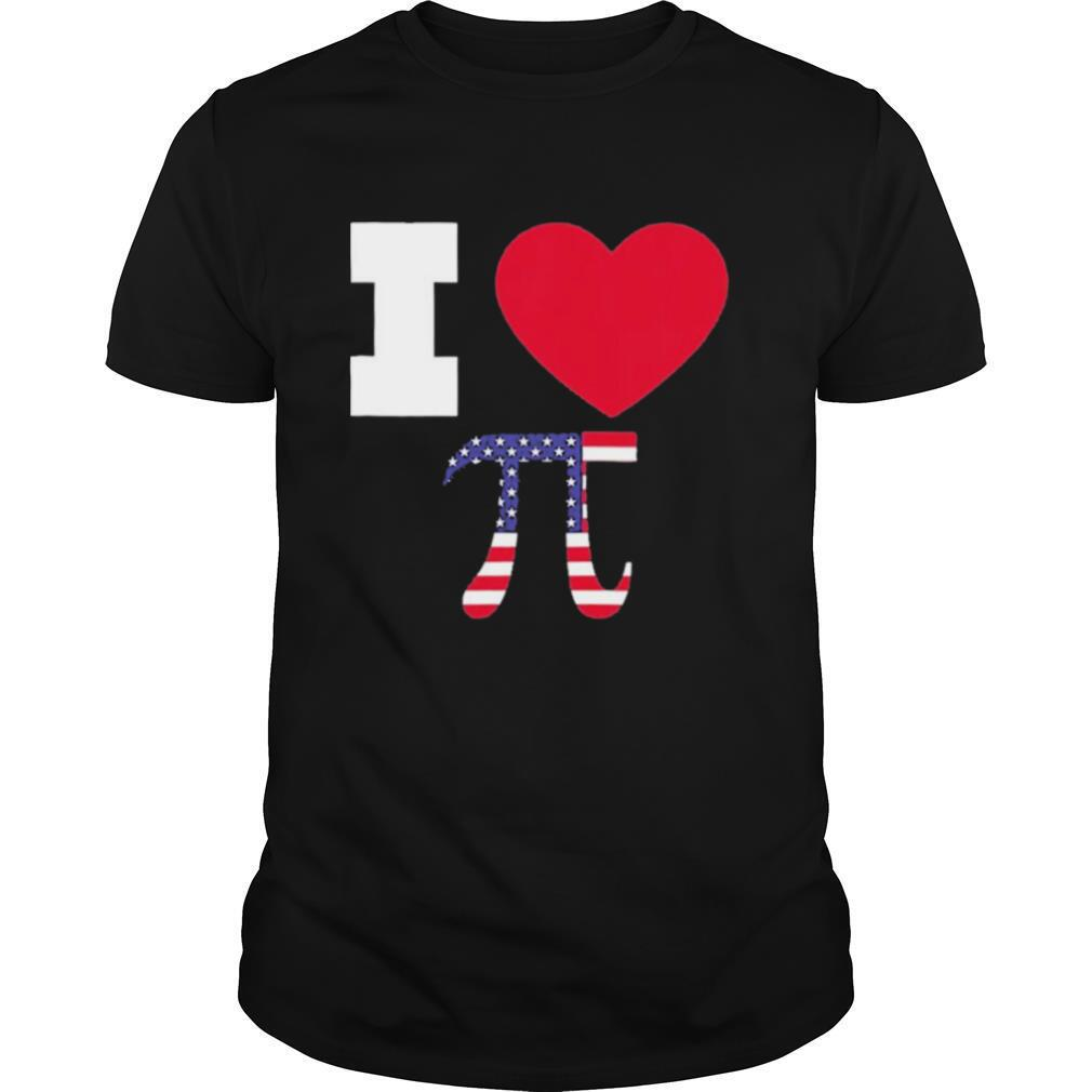 I Love Pi Happy Pi Day Math Celebration shirt Classic Men's