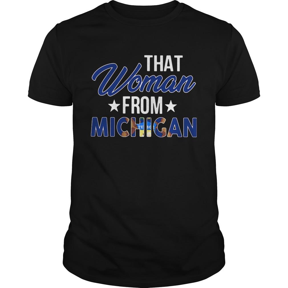 That Woman From Michigan shirt Classic Men's