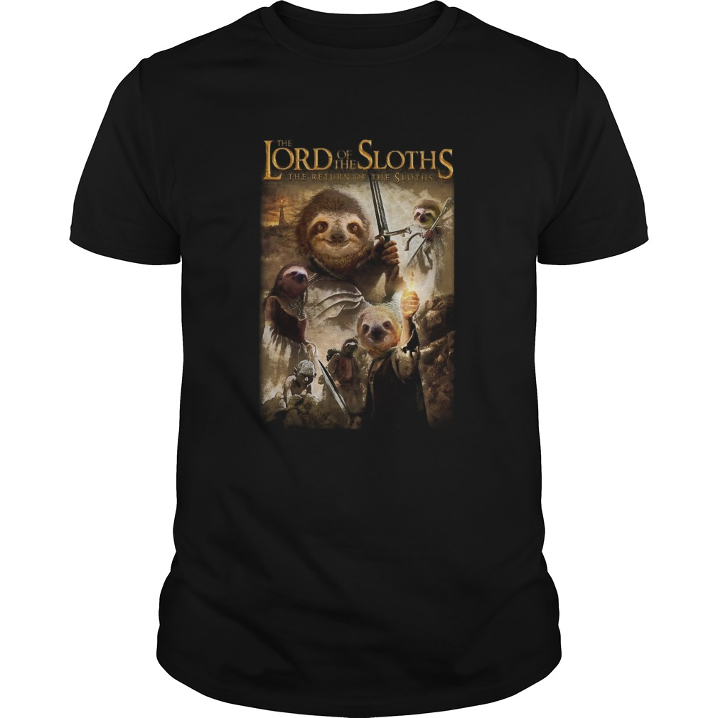 The Lord Of The Sloths The Return Of The Sloths shirt Classic Men's