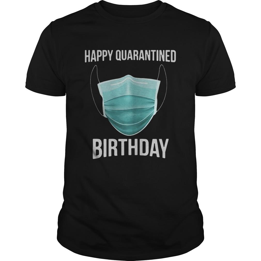 1585714817Happy Quarantined Birthday Medical Mask Virus 2020 shirt Classic Men's