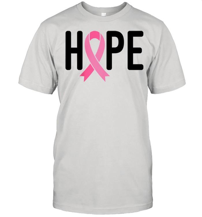 Breast Cancer Fighter Survivor Hope Pink Ribbon Warrior shirt