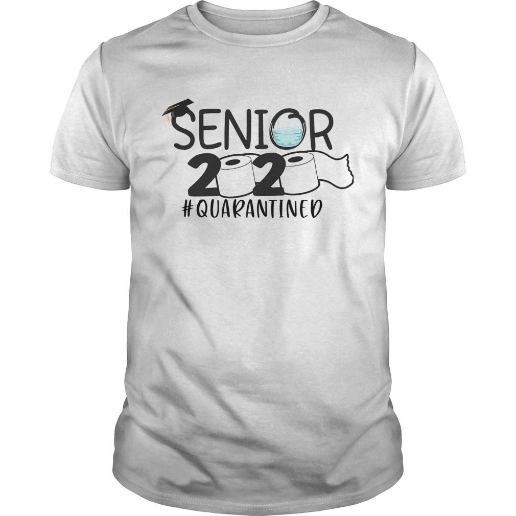 Senior 2020 quarantined shirt Classic Men's