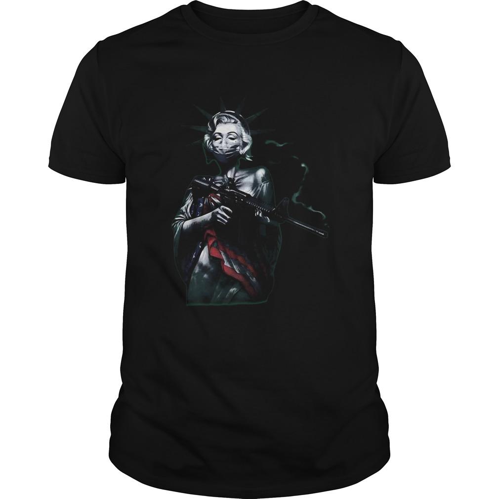 Virus Masked Marilyn shirt Classic Men's