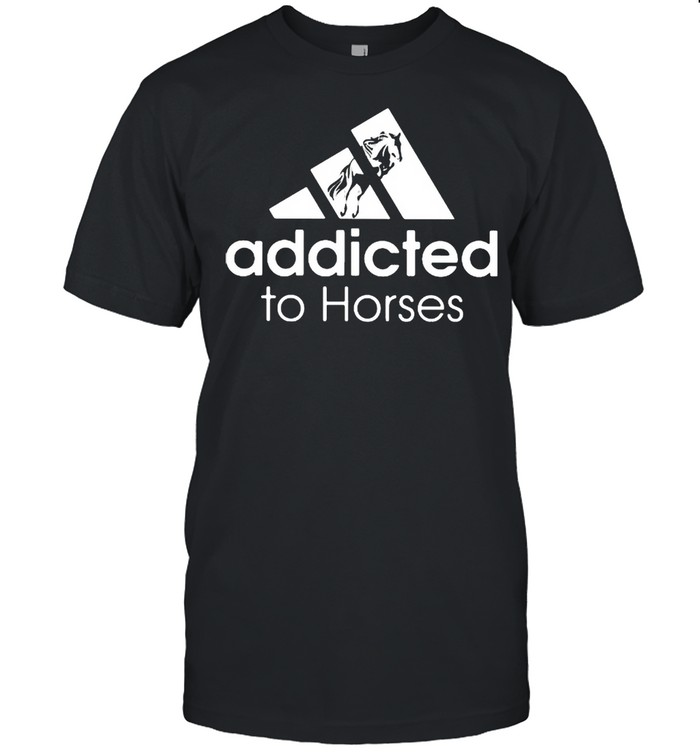 Addicted To Horses  Classic Men's T-shirt