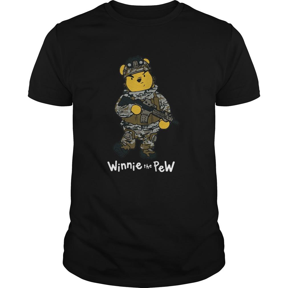 Winnie The Pew Army shirt Classic Men's