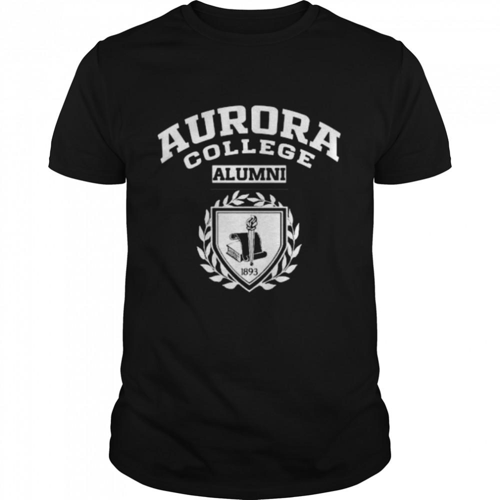 Aurora College Alumni  Classic Men's T-shirt