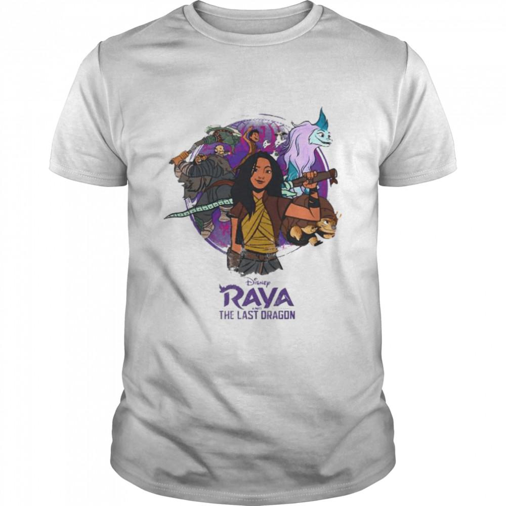 Disney Raya And The Last Dragon Raya And Crew  Classic Men's T-shirt