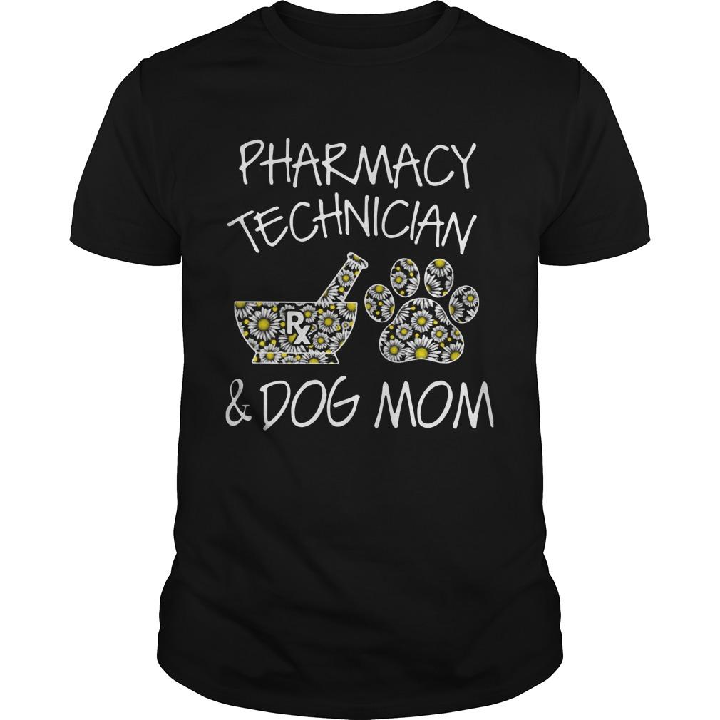 Pharmacy Technician And Dog Mom shirt Classic Men's