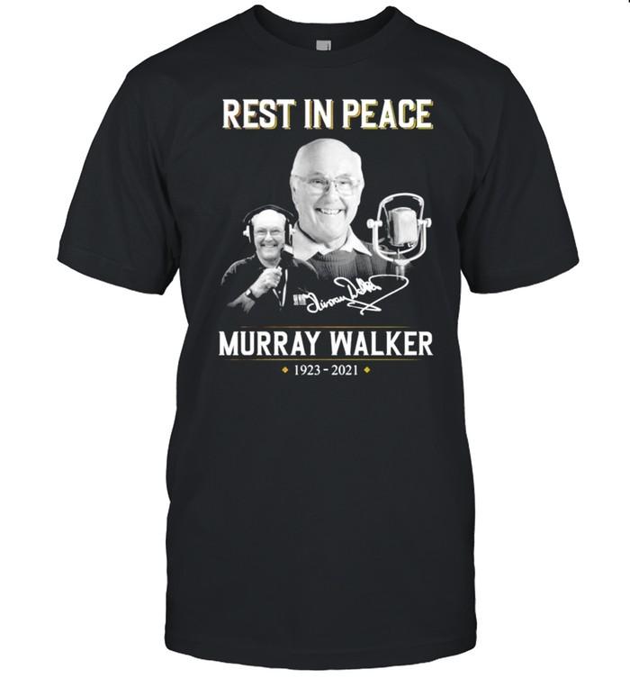 Rest in peace Murray Walker 1923 2021 signature shirt Classic Men's T-shirt