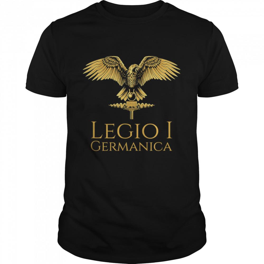 Roman Legion Legio I Germanica SPQR Aquila shirt Classic Men's T-shirt