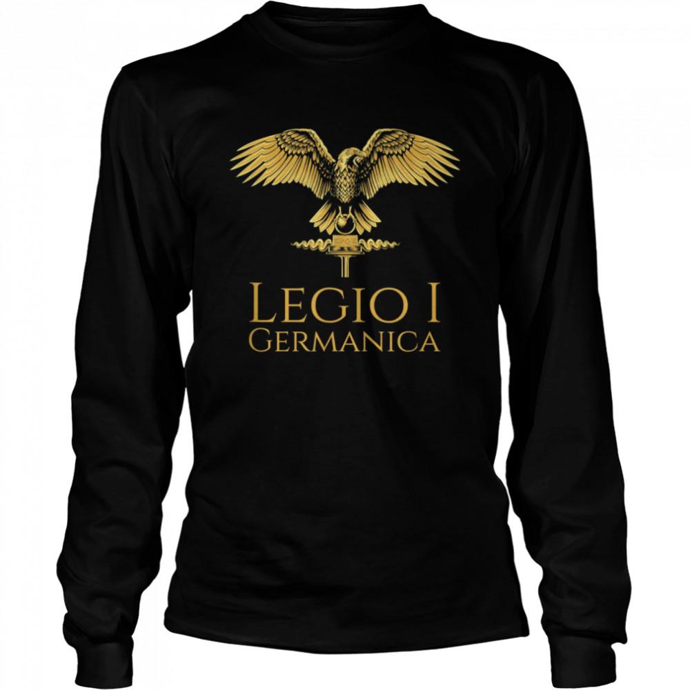 Roman Legion Legio I Germanica SPQR Aquila shirt Long Sleeved T-shirt