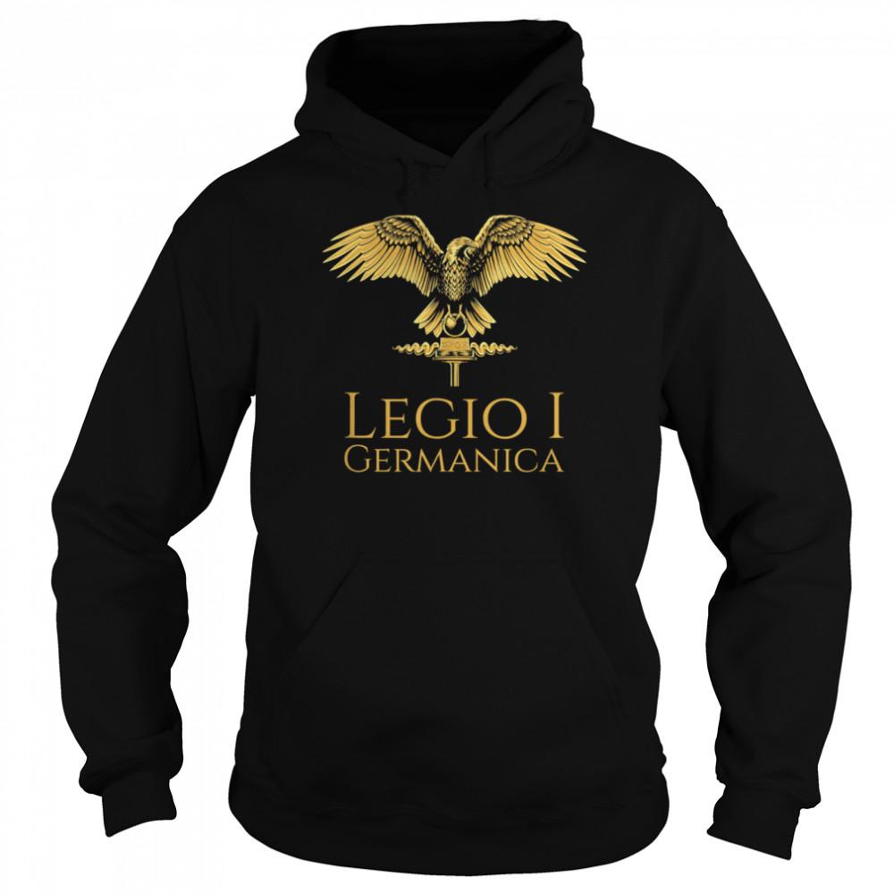 Roman Legion Legio I Germanica SPQR Aquila shirt Unisex Hoodie